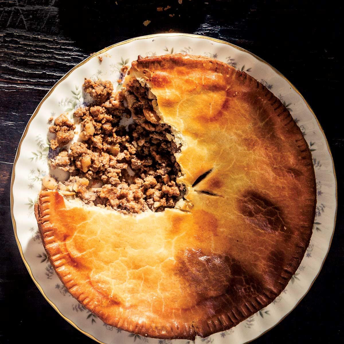 Tourtiere Pie